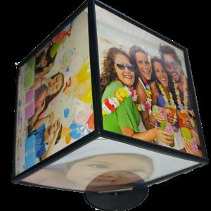 Cub Foto rotativ personalizat cu 6 fotografii 10 x 10 cm